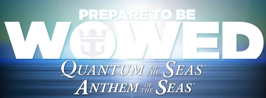 Anthem of the Seas et quantum of the Seas
