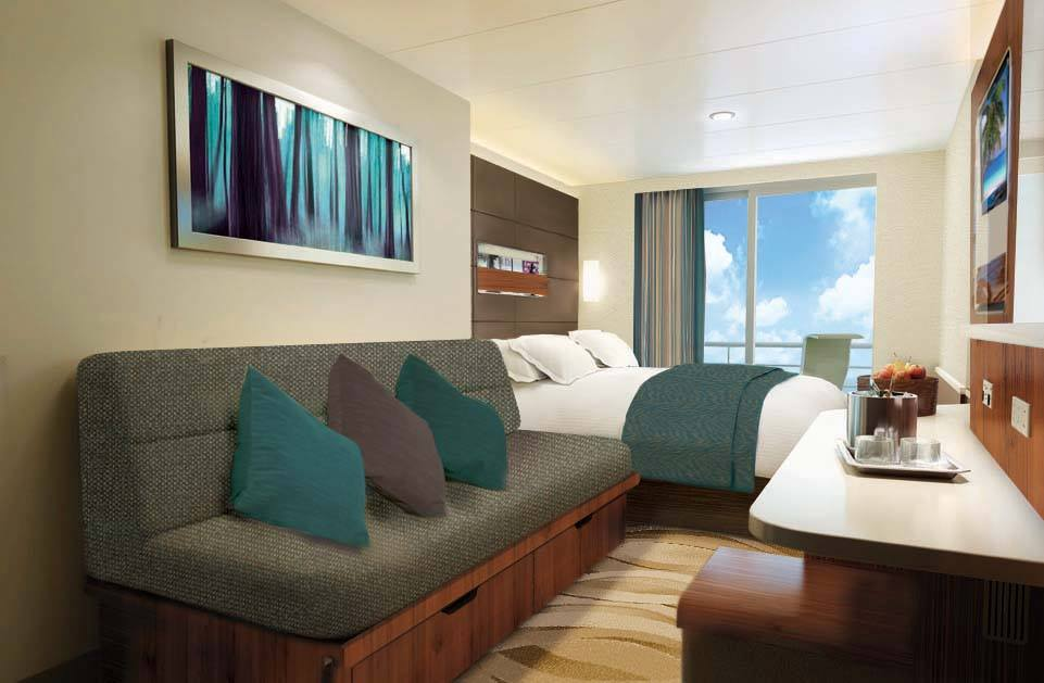 Norwegian Escape Cabine balcon