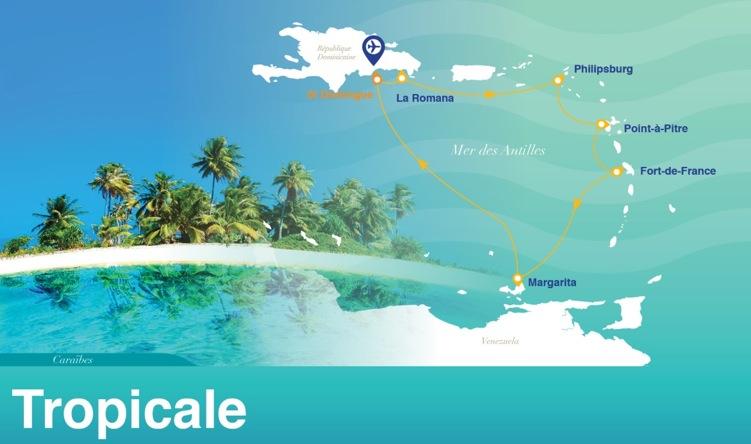Croisière Tropicale 2015 à bord de l'Horizon