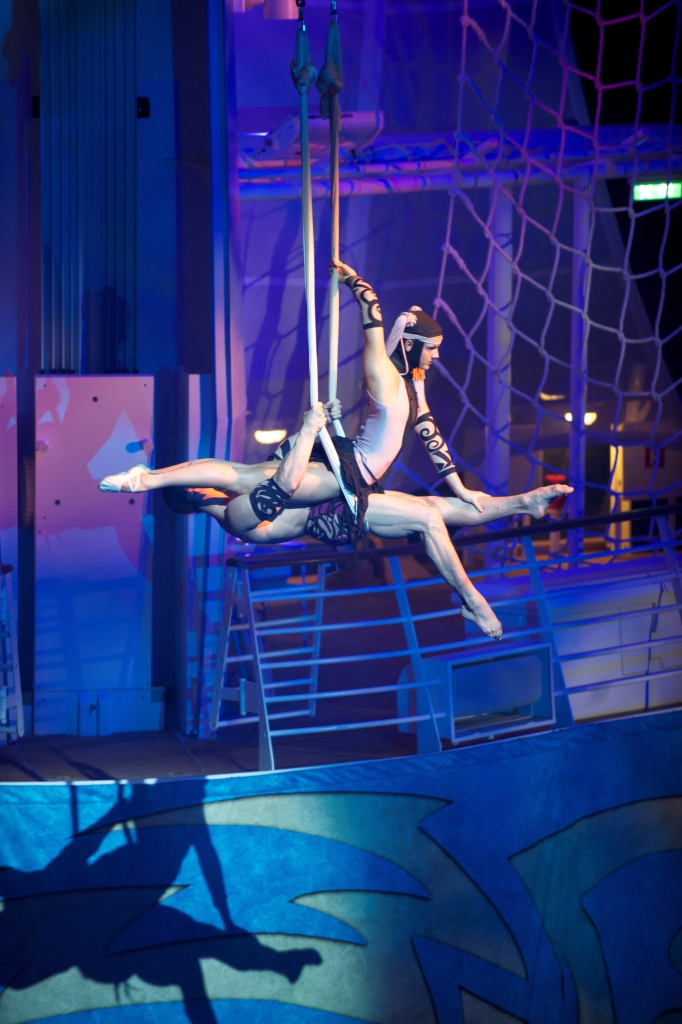 Spectacle aquatique - Oasis of the Seas