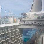 test de la tyrolienne Oasis of the Seas