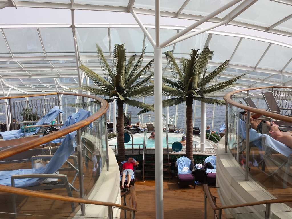 solarium oasis of the Seas