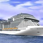 Représentation 3D des futurs navires MSC classe Vista
