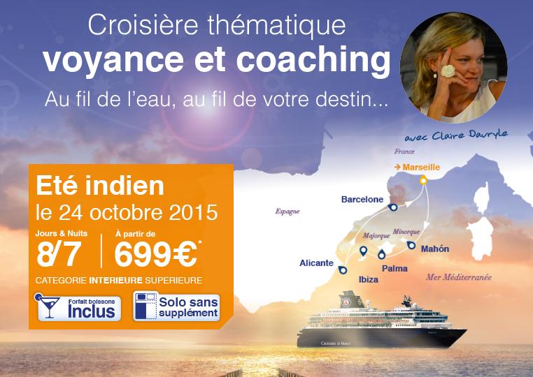 Croisière Voyance et coaching du 24 octobre
