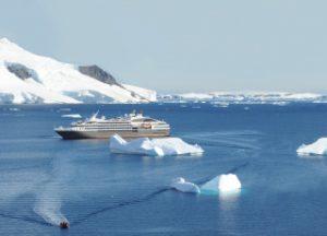 croisière luxe Ponant dans l'antartique