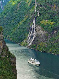 navie de la compagnie de croisière de luxe oceania cruise
