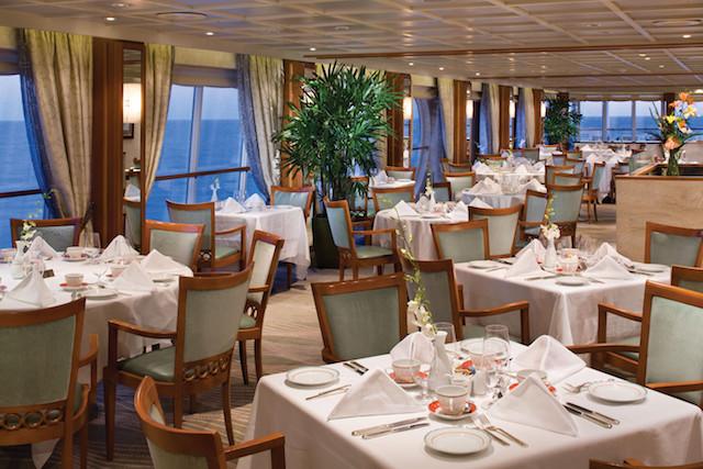 restaurant gastronomique Regent Seven Seas Cruises