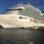 navire costa diadema amarré à Marseille