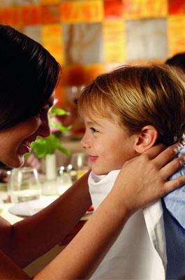 manger au restaurant en croisière avec des enfants