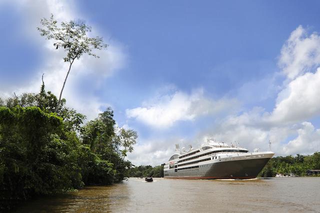 croisière ponant en Amazonie