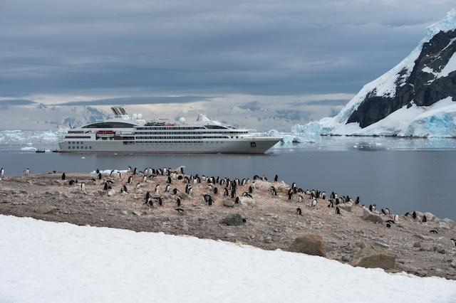 croisière ponant en Antartique