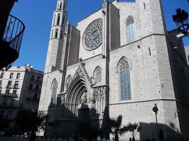 église gothique Barcelone