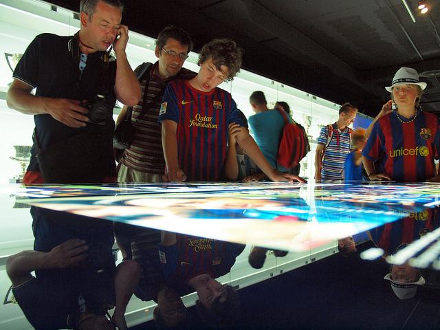 musée du stade camp nou et du FC barcelone
