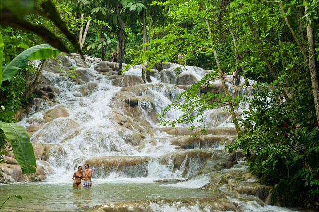 chutes de dunn en Jamaïque