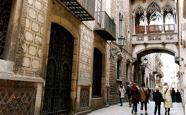 barri gothic à Barcelone