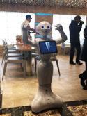 robot qui se balade sur le costa diadema