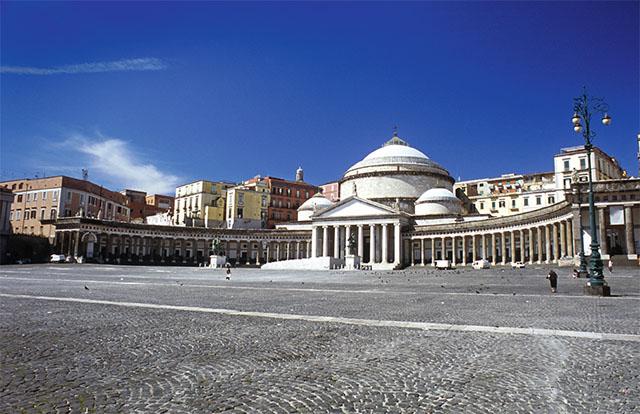 basilique San Francesco di Paola de Naples