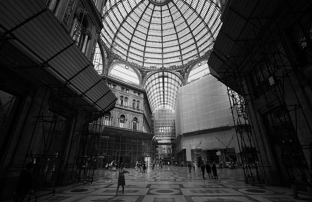 galeria umberto à Naples