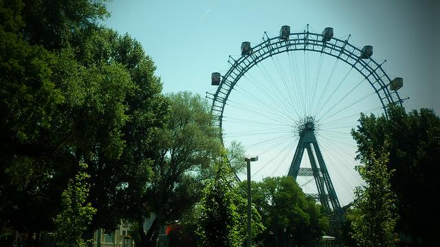 parc Prater et sa grande roue à Vienne