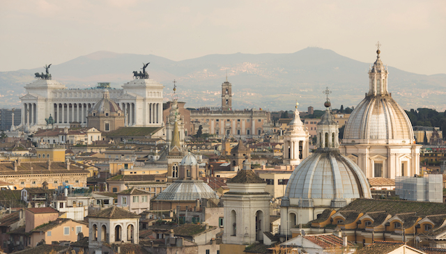 escale à rome italie