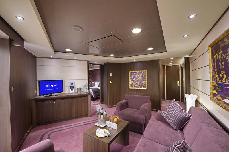 Suite royale MSC Yacht Club