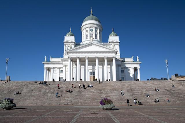 cathédrale d'Helsinki