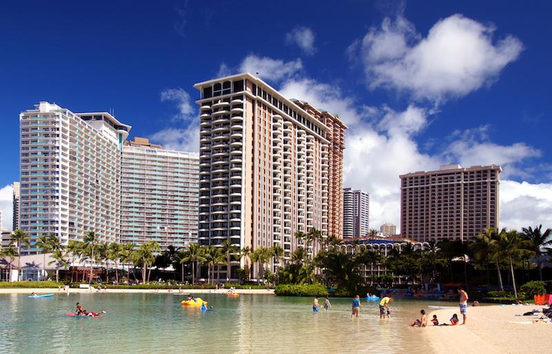 plage de waikiki hawaii