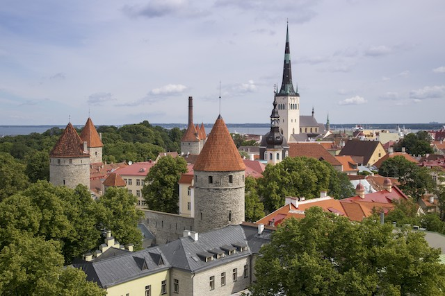 escale à tallin ville médiévale