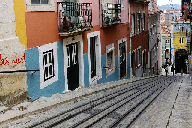 Bairro Alto quartier de Lisbonne