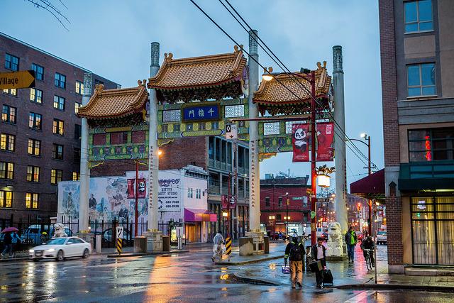 chinatown quartier de vancouver