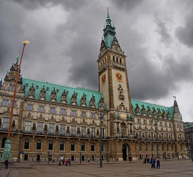 Rathaus hotel de ville de hambourg