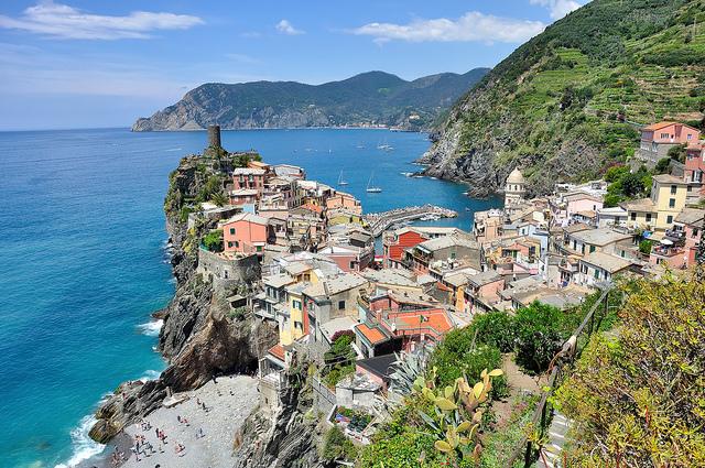 5 terres en italie