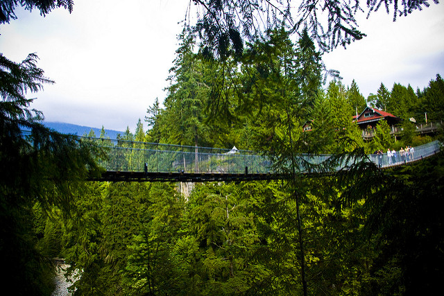 pont suspendu de capilano vancouver