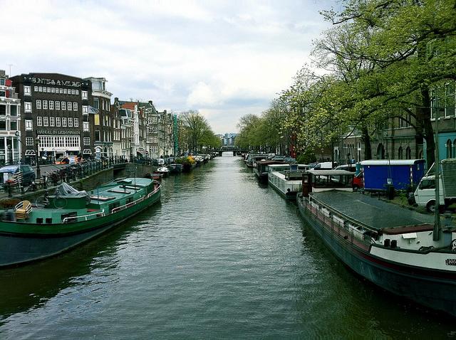 Prinsengracht canal d'Amsterdam