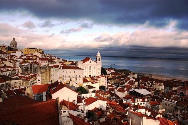 Alfama quartier de Lisbonne