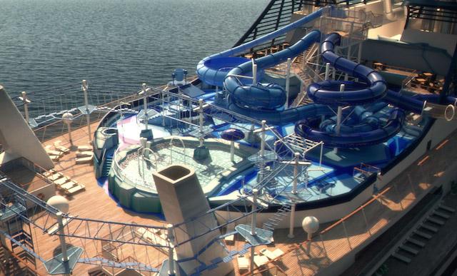 parc aquatique MSC Meraviglia
