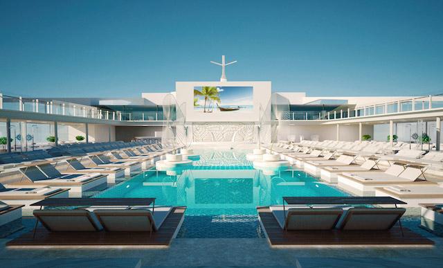 piscine du MSC Meraviglia