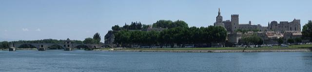croisière sur le rhône à Avignon