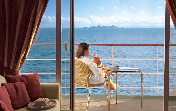 balcon cabine MSC Meraviglia