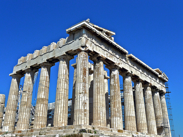 parthénon à Athènes