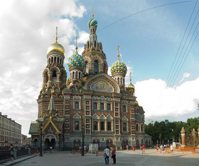 cathédrale Saint-Sauveur-sur-le-Sang-Versé Saint Pétersbourg