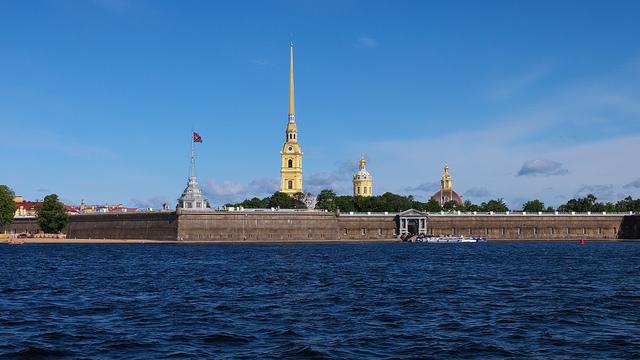 forteresse Pierre et Paul de Saint Pétersbourg