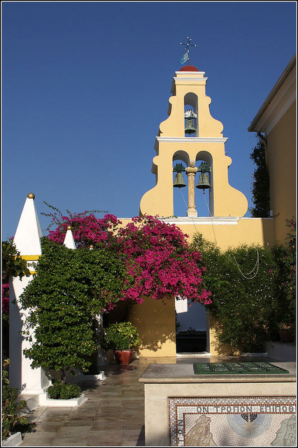Paleokastritsa monastère Corfou