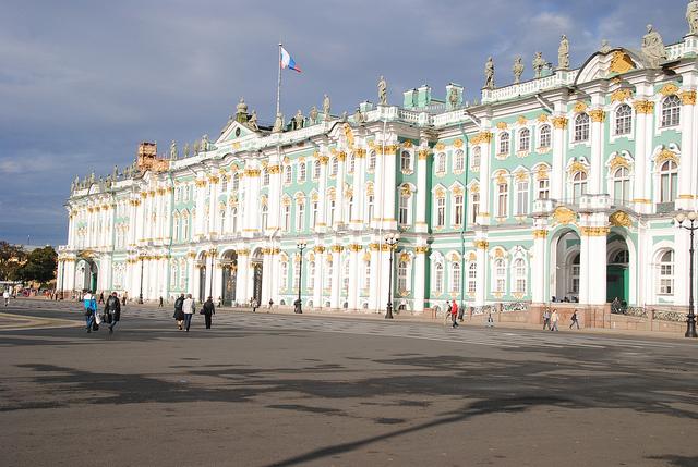 Musée l'Hermitage Saint Pétersbourg