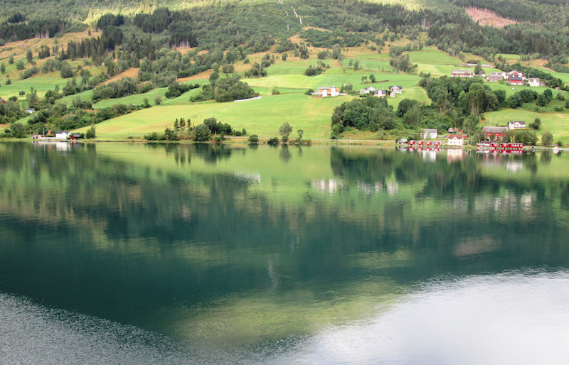 Olden en Norvège