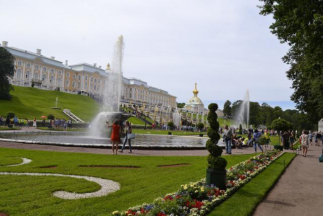 Palai Peterhof Saint Péterbourg