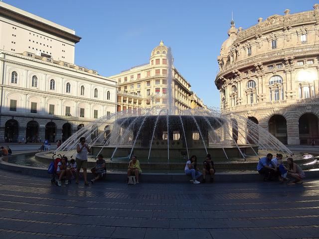 Piazza Raffaele de Ferrari Gênes
