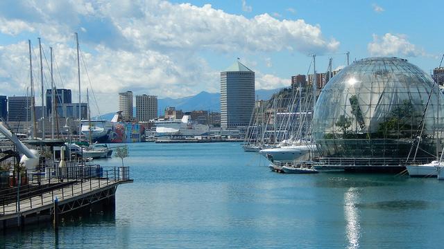 port antique et biosphère genes