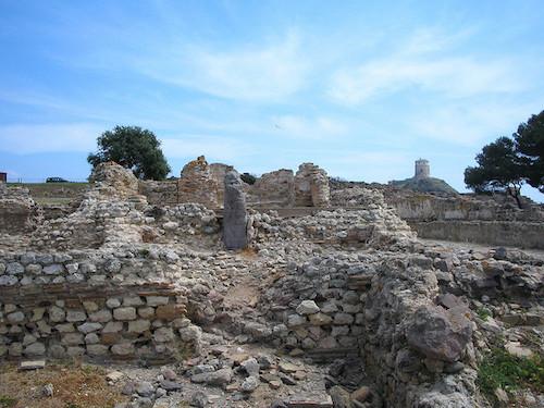 ruines nora cagliari