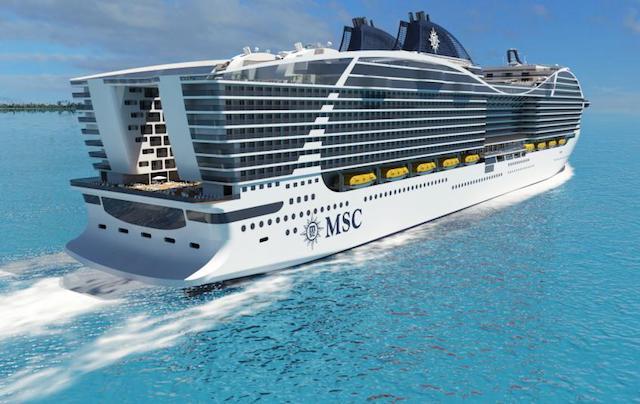 navire de croisière MSC World Class